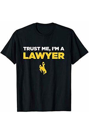 FanPrint Wyoming Cowboys Trust Me - I'm A Lawyer - Team T-Shirt