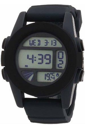 Nixon Men's Quartz Watch The Unit Gray / Black A197195-00 with Plastic Strap