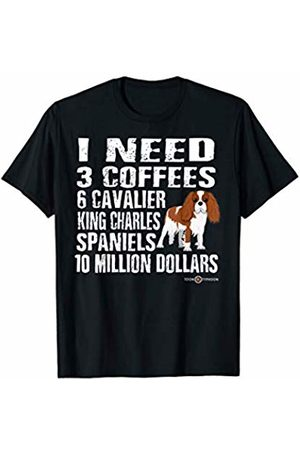 ToonTyphoon Funny Cavalier King Charles Spaniel I Need T-Shirt