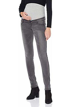 Umstandshose MAMALICIOUS Damen Mlsonar Slim Tape Grey Jeans A