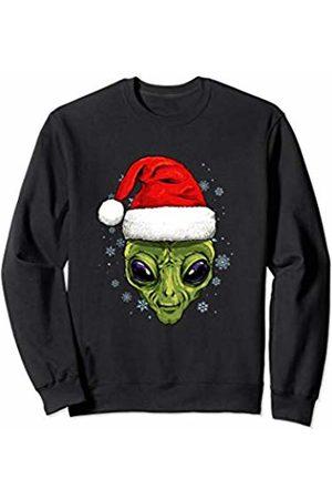 Wowsome! Alien Christmas Santa Hat Xmas Gifts Kids Boys Girls Sweatshirt