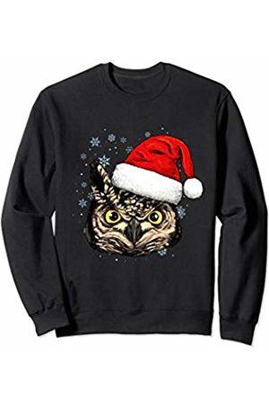 Wowsome! Girls Hats - Owl Christmas Santa Hat Xmas Gifts Kids Boys Girls Sweatshirt
