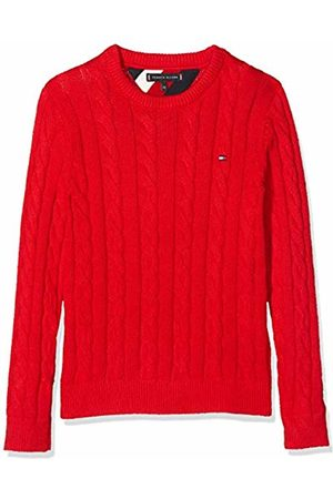 Tommy Hilfiger Boy's Essential Cable Sweater Sweatshirt, (( Xa9)