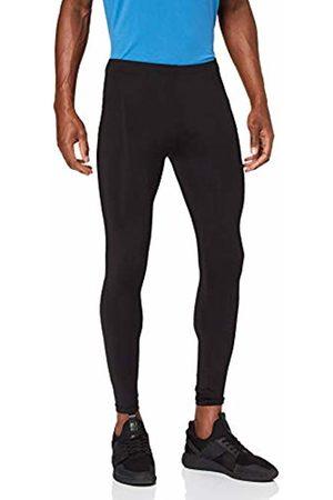 Trigema Women's Herren Leggings Polyester/Elastan Sports (Schwarz 008)