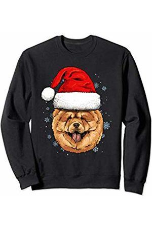 Wowsome! Chow Chow Santa Hat Christmas Boys Girls Xmas Gift Sweatshirt