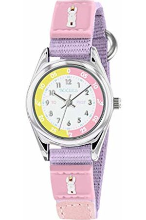 Tikkers Unisex Child Analogue Classic Quartz Watch with Silicone Strap TK0179