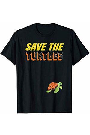 Save The Sea Turtles Straw Environmental Apparel Save The Turtles Tshirt