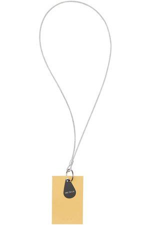 OBS Logo Leather Keychain