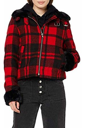 Urban classics Women's Ladies Plaid Jacket Denim