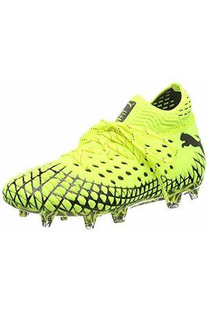 Puma Unisex Kids' Future 4.1 Netfit FG/AG Jr Football Boots, Alert