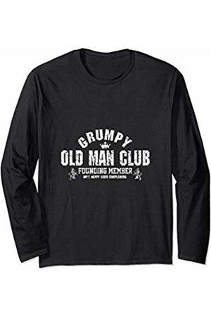 One Profession Designs Grumpy Old Man Club Long Sleeve T-Shirt
