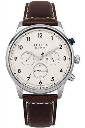 Joules Men's Analogue Quartz Watch with Leather Strap JSG007BR