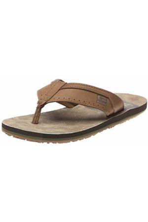 Globe Base, Men's Thong Sandals, Marron (Tobacco/Choco)