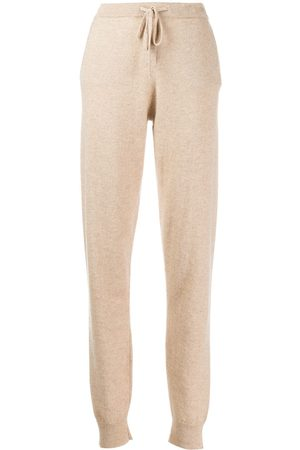 Chinti And Parker Cashmere track pants - Neutrals