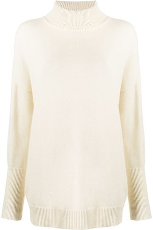 Chinti And Parker Roll neck cashmere sweater - Neutrals