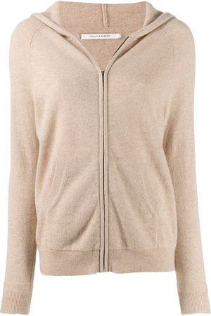 Chinti And Parker Cashmere zip up cardigan - Neutrals