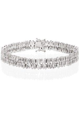 Suzanne Kalan 18kt firework diamond bracelet