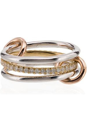 SPINELLI KILCOLLIN 18kt Sonny diamond link ring - /