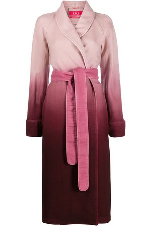 F.R.S For Restless Sleepers Ombré robe coat