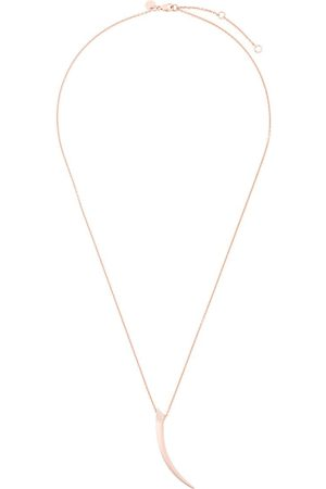 Shaun Leane Women Necklaces - Tusk pave diamond pendant