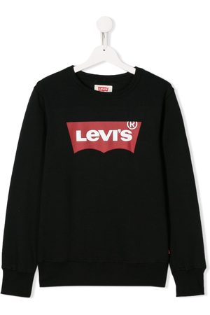 Levi's TEEN logo patch sweatshirt