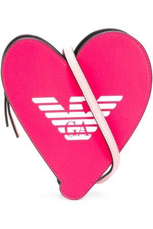 Emporio Armani Kids Girls Bags - Heart sling bag