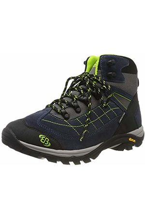Bruetting Unisex Adults' Mount Crillon High Rise Hiking Shoes, Marine/Lemon