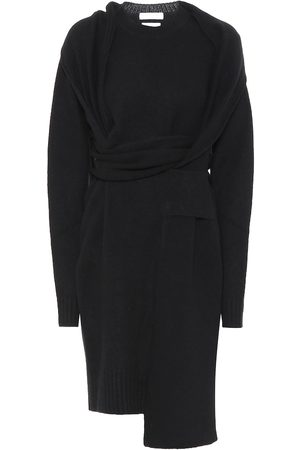 Bottega Veneta Women Asymmetrical Dresses - Asymmetric wool dress