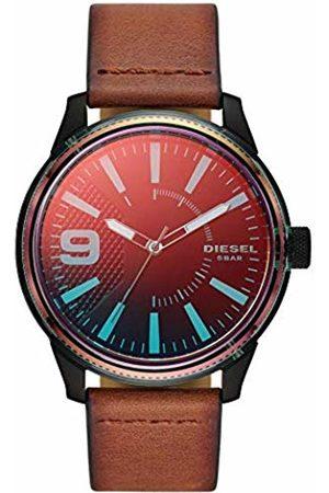 Diesel Mens Analogue Quartz Watch with Leather Strap DZ1876