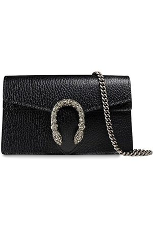 Gucci Super Mini Dionysus Leather Shoulder Bag