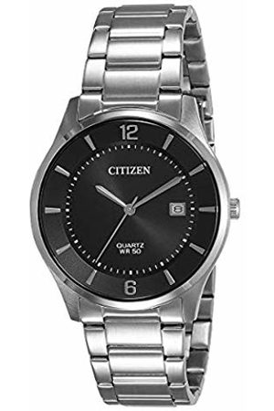 Citizen Mens Analogue Quartz Watch with Stainless Steel Strap BD0041-89E