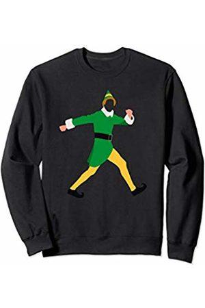 A Kid's Buddy Christmas Elf Elf Costume A Kid's Buddy Christmas Pajama Gift Sweatshirt
