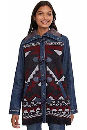 Desigual Women's Coat NAVAI (Denim Dark 5008)