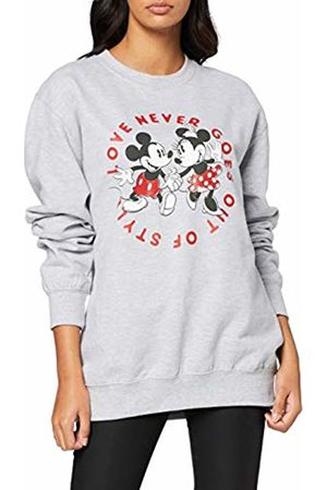 Disney Women's Mickey and Minnie Love Never GOES Out of Style Sweatshirt