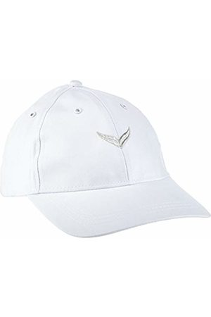 Trigema Men's Baseball Cap White Weiß (weiss 001) Large