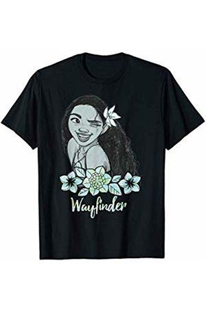 Disney Moana Wayfinder Floral Sketch T-Shirt