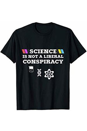 My Shirt Hub Cool Science Love Science Is Not A Liberal Conspiracy T-Shirt