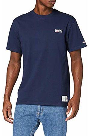 Tommy Hilfiger Men's TJM Chest Corp Logo Tee Sports Shirt