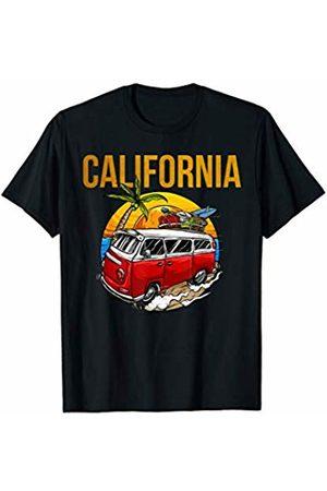 Big Sur t shirt Big Sur California Roadtrip Route 1 Vintage Bear Hippie T-Shirt