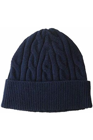 Amazon Cable Knit Hat Navy