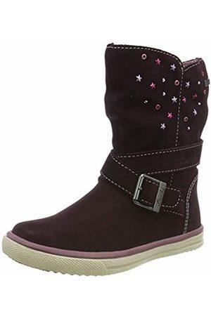 Lurchi CINA-TEX, Girls' Slouch Boots, (Burgundy 33)