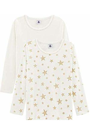 Petit Bateau Girl's Tee Shirt Ml_5119000 Vest