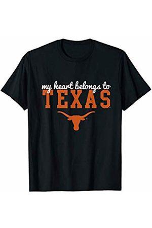 FanPrint Texas Longhorns My Heart Belongs To Texas - Apparel T-Shirt