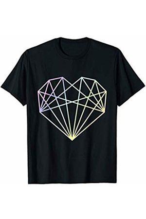 My Shirt Hub Cool Love Heart Art Polygon Architecture Architect Love Gift T-Shirt