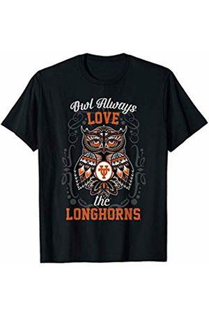 FanPrint Texas Longhorns Owl Always - Apparel T-Shirt