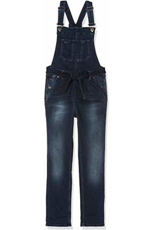 Pepe Jeans Girl's Chalk Bowie Dungarees