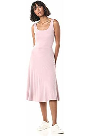 The Drop Women's Nadia Square Neck Sleeveless Flare Dress