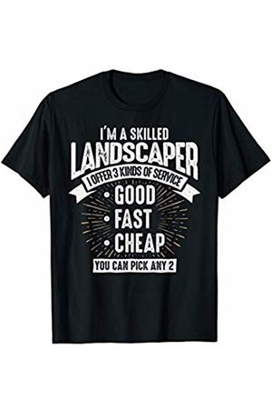 Vintage Landscaper Apparel Emporium Funny Skilled Landscaper Gift Idea For Men Or Women T-Shirt
