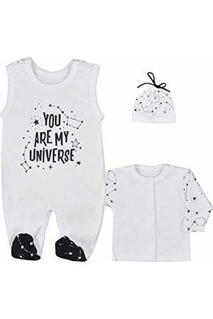 Fifiloo Baby 3er Babyset Strampler/Shirt/Mütze Für Jungen Und Mädchen Clothing Set