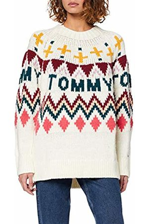 Tommy Hilfiger Women's Tjw Tommy Fairisle Sweater Sweatshirt